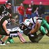 Oak Hill vs Fayetteville Friday night at the John P. Duda stadium in Oak Hill.<br /> (Rick Barbero/The Register-Herald)