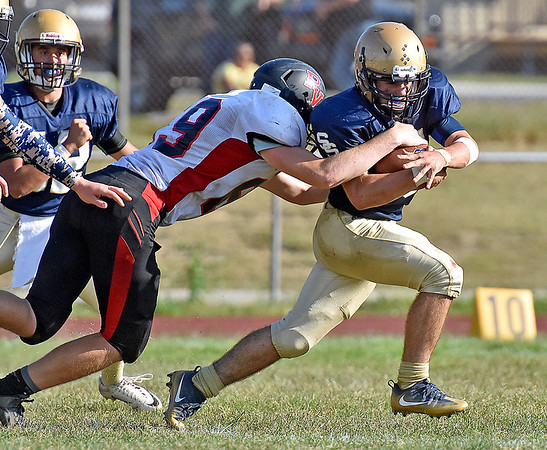 (Brad Davis/The Register-Herald) Shady Spring v PikeView homecoming game Saturday afternoon.