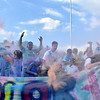 (Brad Davis/The Register-Herald) United Way of Southern West Virginia's Color Me United 5K Walk/Run Sunday afternoon at the Raleigh County Memorial Airport.