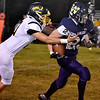 (Brad Davis/The Register-Herald) Greenbrier West running back Dakota Feamster against Buffalo Friday night in Charmco.