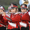 Oak Hill marching band during game against Fayetteville Friday night at the John P. Duda stadium in Oak Hill <br /> (Rick Barbero/The Register-Herald)