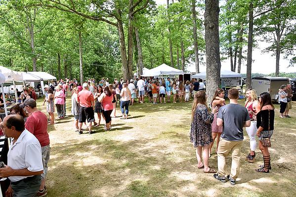 (Brad Davis/The Register-Herald) Daniel Vineyards' Spring Wine Festival June 17 in Crab Orchard.