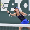 (Brad Davis/The Register-Herald) International Tennis Hall of Famer Martina Hingis plays against Venus Williams during the Greenbrier Champions Tennis Classic Saturday afternoon in White Sulphur Springs.