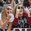 (Brad Davis/The Register-Herald) The Clear Fork Crazies broke out a full KISS theme for their road game against at cross-county rival Wyoming East Friday night in New Richmond.