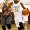 (Brad Davis/The Register-Herald) Woodrow Wilson's Sydni Darden against Summers County December 7 in Beckley.