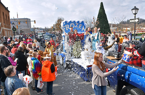 (Brad Davis/The Register-Herald) Scenes from the Beckley Christmas Parade Saturday morning.