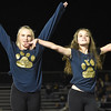 (Brad Davis/The Register-Herald) Shady Spring dancers perform with the marching band at halftime Friday night in Coal City.