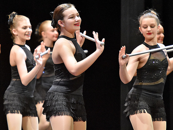 "(Brad Davis/The Register-Herald) Young dancers perform during Beckley Dance Theatre School's Spring recital called ""Music, Music, Music!"" Monday evening inside the Woodrow Wilson High School auditorium."