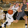 (Brad Davis/The Register-Herald) Wyoming East's Jazz Blankenship against George Washington during Big Atlantic Classic action Wednesday night at the Beckley-Raleigh County Convention Center.