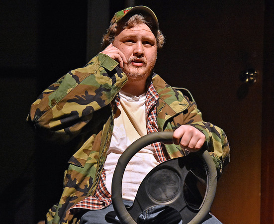 (Brad Davis/The Register-Herald) Scenes from FRACK! Saturday night at The Raleigh Playhouse & Theatre.