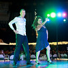 Kenny McBride and Donna Flaim perform during the 6th annual United Way of Southern West Virginia's Dancing With the Stars at the Beckley-Raleigh County Convention Center in Beckley on Friday. (Chris Jackson/The Register-Herald)