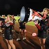 Liberty cheerleaders cheering during game againt Independence Friday night at Liberty High School.<br /> (Rick Barbero/The Register-Herald)