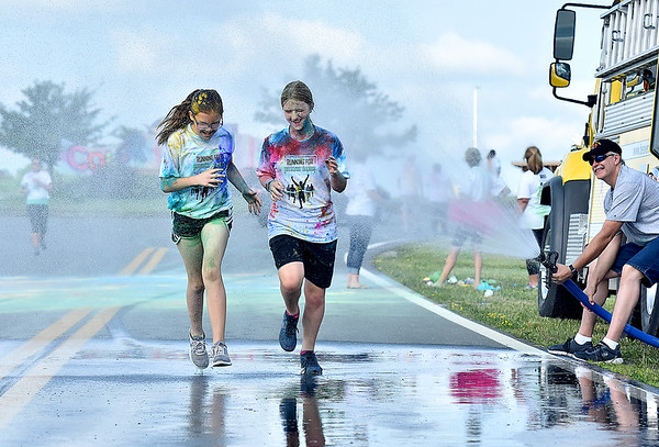 (Brad Davis/The Register-Herald) United Way of Southern West Virginia's annual Color Me United Walk/Run Saturday morning at the Raleigh County Memorial Airport.