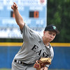 (Brad Davis/The Register-Herald) Wyoming East starting pitcher Tyler Bradford delivers against Independence Friday evening in Coal City.