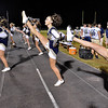 (Brad Davis/The Register-Herald) Nicholas County cheerleaders celebrate a touchdown Friday night in Clear Fork.