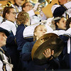 Nicholas County band members perform during their sides football game against James Monroe Friday in Summersville. (Chris Jackson/The Register-Herald)