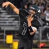 (Brad Davis/The Register-Herald) Wyoming East quarterback Seth Ross throws Friday night in New Richmond.