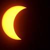 Solar eclipse at 2:05<br /> (Rick Barbero/The Register-Herald)