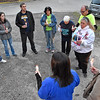 (Brad Davis/The Register-Herald) Friends, family and community members join together in a candlelight vigil for Chaz Richardson, who has been missing since December 3rd of 2015 during a vigil and continued awareness gathering Wednesday evening in Glen Daniel next to the Whitesville State Bank. His mother Leisa Wellington joins them at right (white sweatshirt).