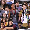Woodrow Wilson students having a good time during game against Cabell Midland Friday night at Van Meter Stadium in Beckley.<br /> (Rick Barbero/The Register-Herald)