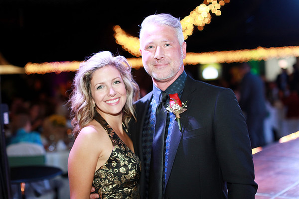 Candace and Joe Meade during the 6th annual United Way of Southern West Virginia's Dancing With the Stars at the Beckley-Raleigh County Convention Center in Beckley on Friday. (Chris Jackson/The Register-Herald)