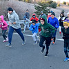 (Brad Davis/The Register-Herald) The fun runners' division sets off from the starting line during the YMCA of Southern West Virginia's annual Turkey Trot 5K Walk/Run on a chilly Thanksgiving morning Thursday at the YMCA Paul Cline Memorial Sports Complex.