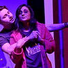 "(Brad Davis/The Register-Herald) Sissy gets a ""visit"" from idol Eulis during a scene from FRACK! Saturday night at The Raleigh."
