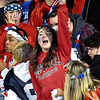 (Brad Davis/The Register-Herald) Indy students react to events on the field Friday night in Coal City.