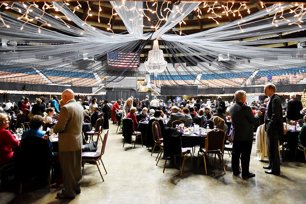 The 31st annual Spirit of Beckley Award at the Beckley-Raleigh County Convention Center in Beckley on Monday. (Chris Jackson/The Register-Herald)