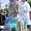 (Brad Davis/The Register-Herald) Breiel Duncan, 6, in the aftermath of the United Way of Southern West Virginia's annual Color Me United Walk/Run Saturday morning at the Raleigh County Memorial Airport.