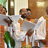 (Brad Davis/The Register-Herald) Black History Month celebration at Central Baptist Church Sunday afternoon.