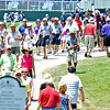 (Brad Davis/The Register-Herald) Attendance was good for a second day in a row during second round Greenbrier Classic action Friday afternoon in White Sulphur Springs.