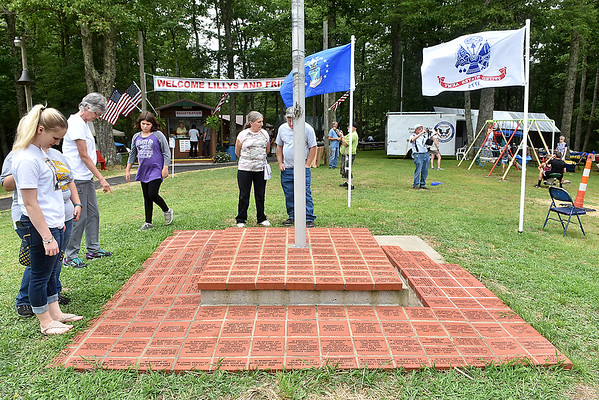 (Brad Davis/The Register-Herald) Lilly Family Reunion Saturday afternoon.