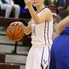(Brad Davis/The Register-Herald) Woodrow Wilson's Liz Cadle against Ripley December 21 in Beckley.