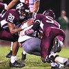 Woodrow Wilson vs Cabell Midland Friday night at Van Meter Stadium in Beckley.<br /> (Rick Barbero/The Register-Herald)