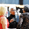 Jean Evansmore speaks with friends during the 31st annual Spirit of Beckley Award at the Beckley-Raleigh County Convention Center in Beckley on Monday. (Chris Jackson/The Register-Herald)