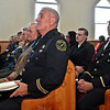 (Brad Davis/The Register-Herald) Beckley Firefighters and others in attendance at Central Baptist's Black History Month celebration Sunday afternoon.
