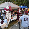 (Brad Davis/The Register-Herald) Woodrow Wilson baseball booth during Beckley's annual Chili Night event Saturday evening.
