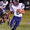 (Brad Davis/The Register-Herald) Greenbrier West's Brandon O'Dell returns a kickoff Friday night in Hinton.
