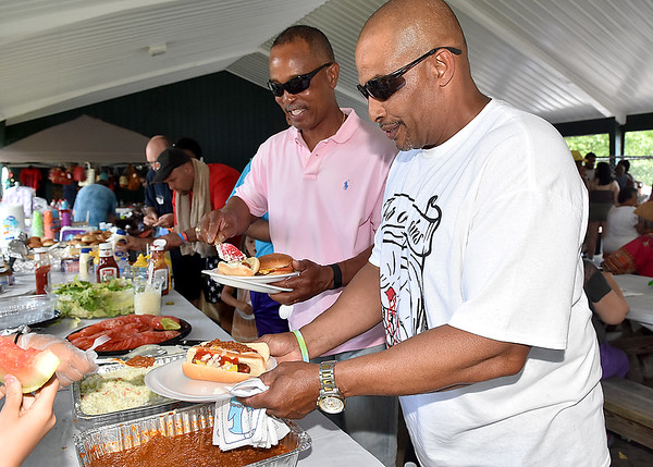 (Brad Davis/The Register-Herald) 13th Annual Juneteenth Family Cookout Sunday afternoon at New River Park.
