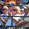 (Brad Davis/The Register-Herald) Fans take in the action during second round Greenbrier Classic action Friday afternoon in White Sulphur Springs.