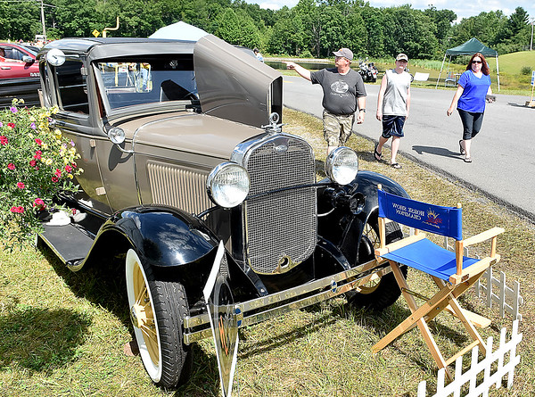 (Brad Davis/The Register-Herald) Friends of Coal Auto Fair July 15 at the Raleigh County Memorial Airport.