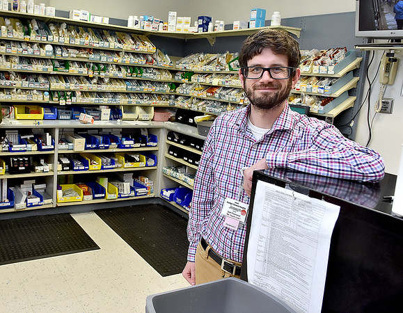 (Brad Davis/The Register-Herald) Joey Fama works at Raleigh General Hospital.