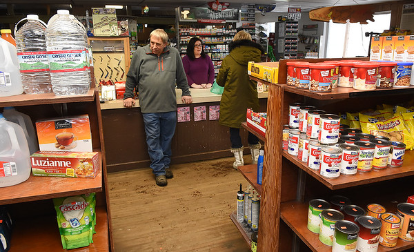Gary Jarrell, owner, Charles B. Jarrell General Store on Coal River Road in Dry Creek<br /> (Rick Barbero/The Register-Herald