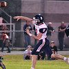 (Brad Davis/The Register-Herald) Independence quarterback Adam Daniels throws against Summers County Friday night in Hinton.
