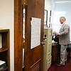 Delegate Mick Bates, D-Raleigh in his office at the State Capitol in Charleston.