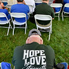 (Brad Davis/The Register-Herald) Scenes from White Sulphur Springs' Service of Life & Rebirth Sunday afternoon in the new Brad Paisley Park.