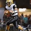 (Brad Davis/The Register-Herald) Shady Spring's Drew Clark against Independence September 19 in Coal City.