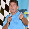 (Brad Davis/The Register-Herald) Senator Joe Manchin holds an old fashioned town hall meeting Friday afternoon at the State Fair.