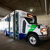 New River Transit Authority got 2 new buses Wednesday. (Chris Jackson/The Register-Herald)